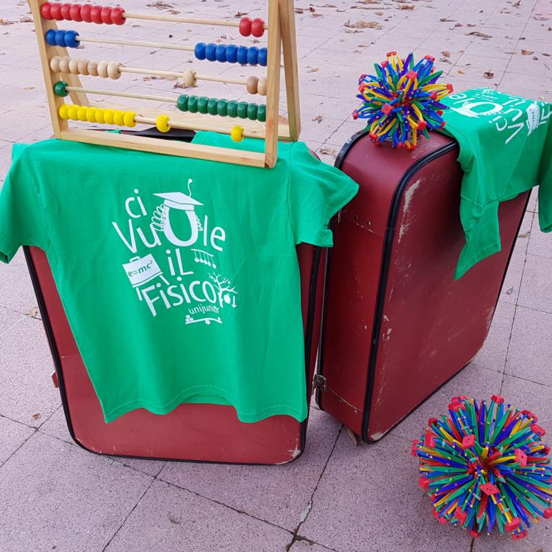 c75134708f9d80 T-shirt bambino/a – Ci vuole il Fisico   Unijunior   Università per ...